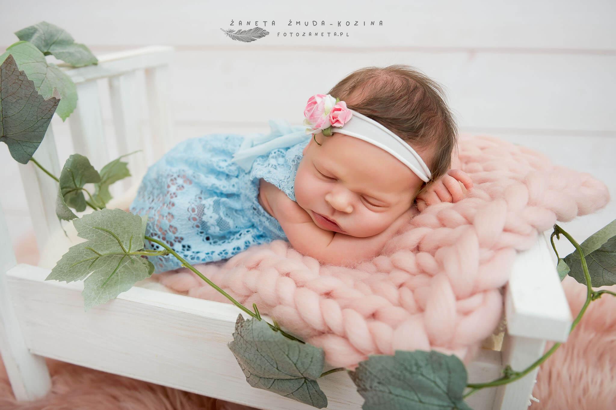 fotozaneta fotografia noworodkowa Kazuń