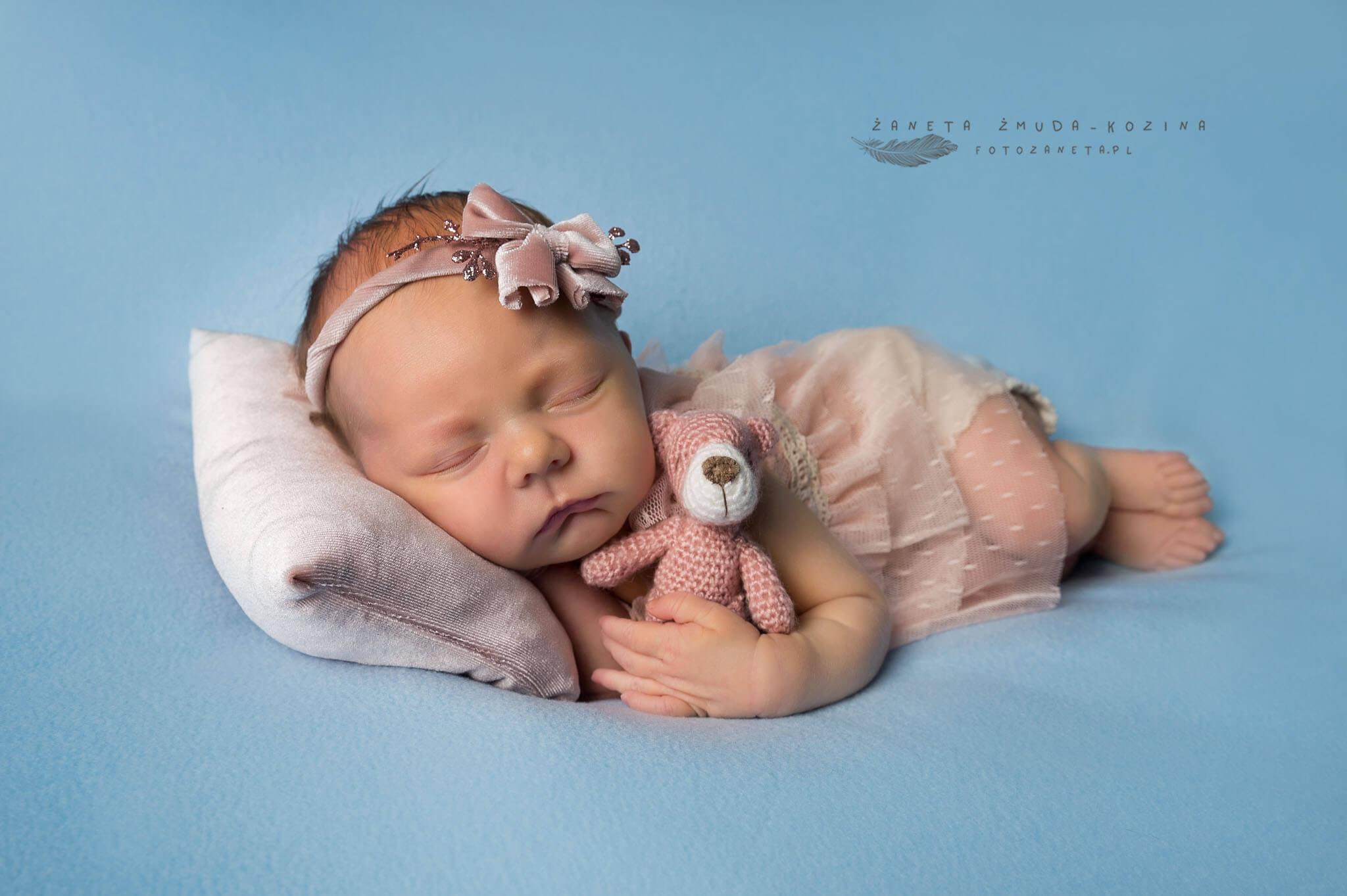 fotozaneta fotografia noworodkowa Czosnów