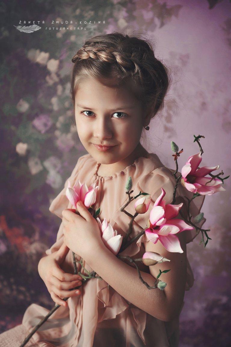 fotozaneta portret dziecka Pomiechówek