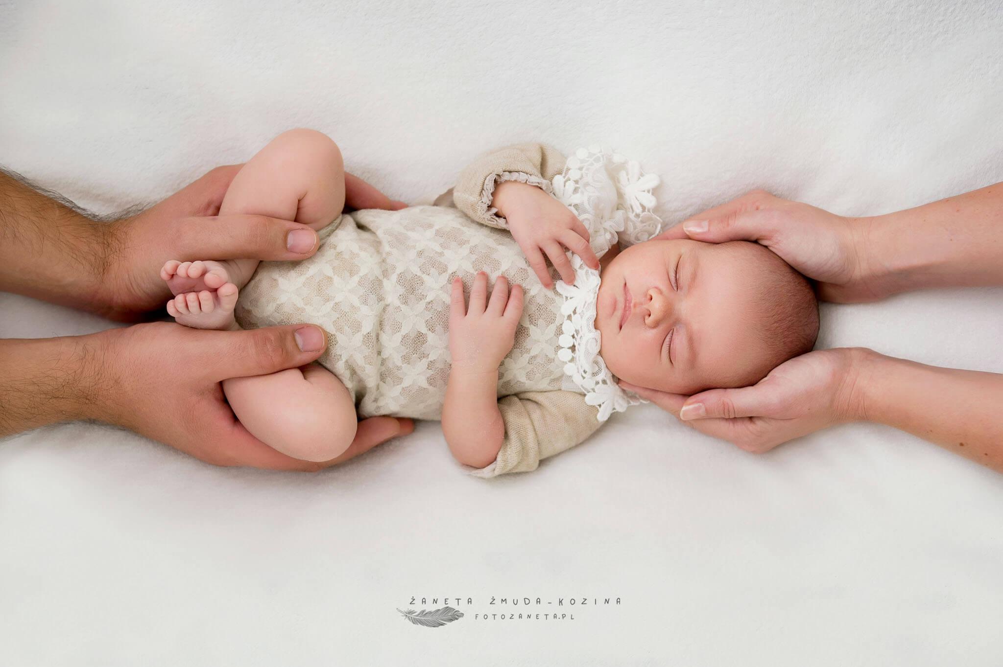 fotozaneta fotografia noworodkowa Pomiechówek