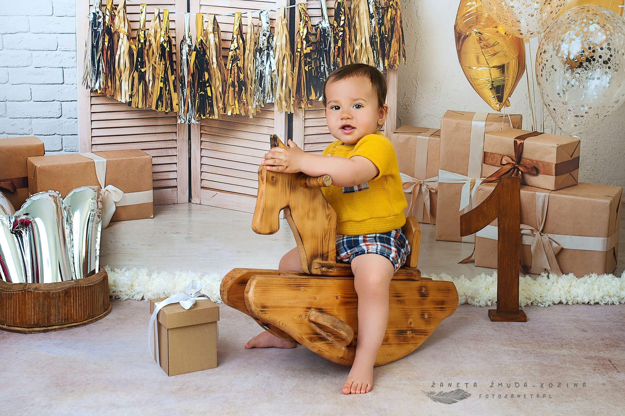 FotoZaneta sesje na roczek Modlin