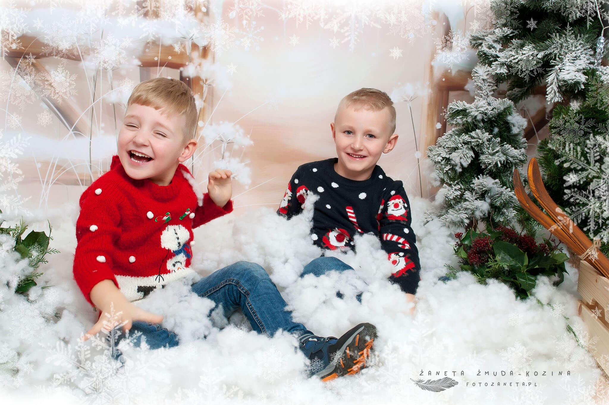 sesje świąteczne Pomiechówek