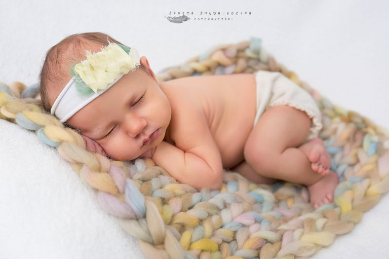 fotografia noworodkowa Pomiechówek