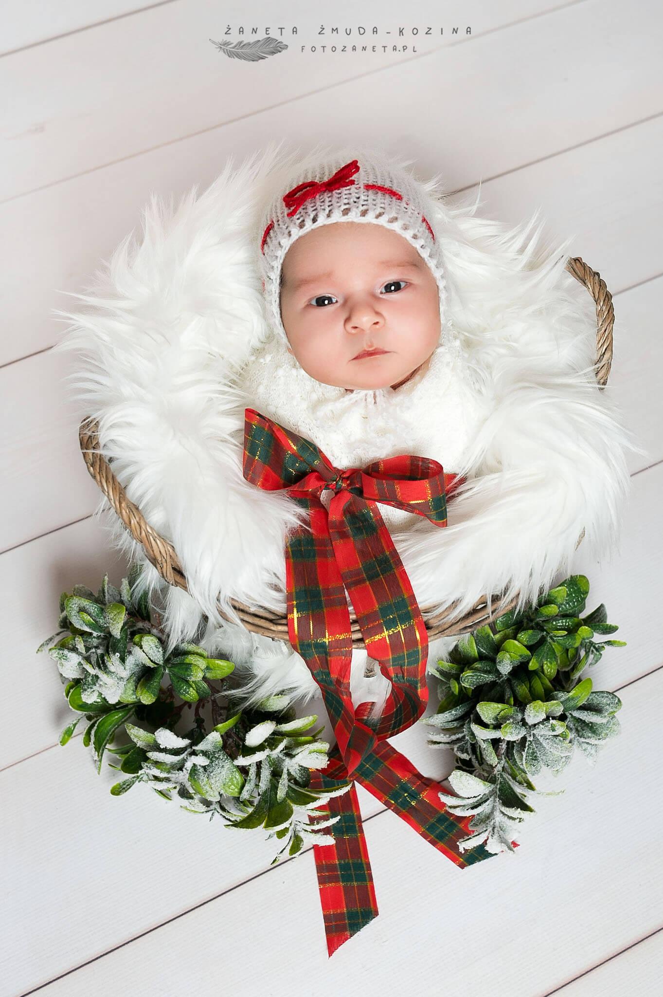 fotozaneta sesja noworodkowa Łomianki