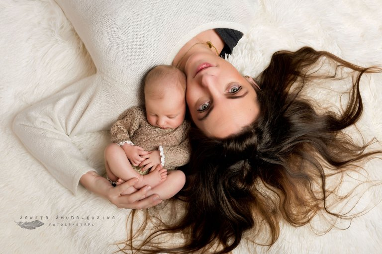 fotozaneta sesja noworodkowa Jabłonna