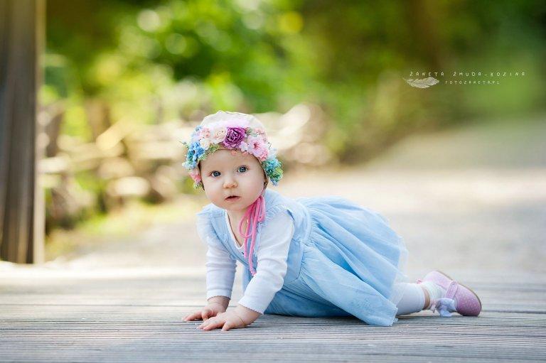 fotozaneta fotografia dziecięca Pomiechówek