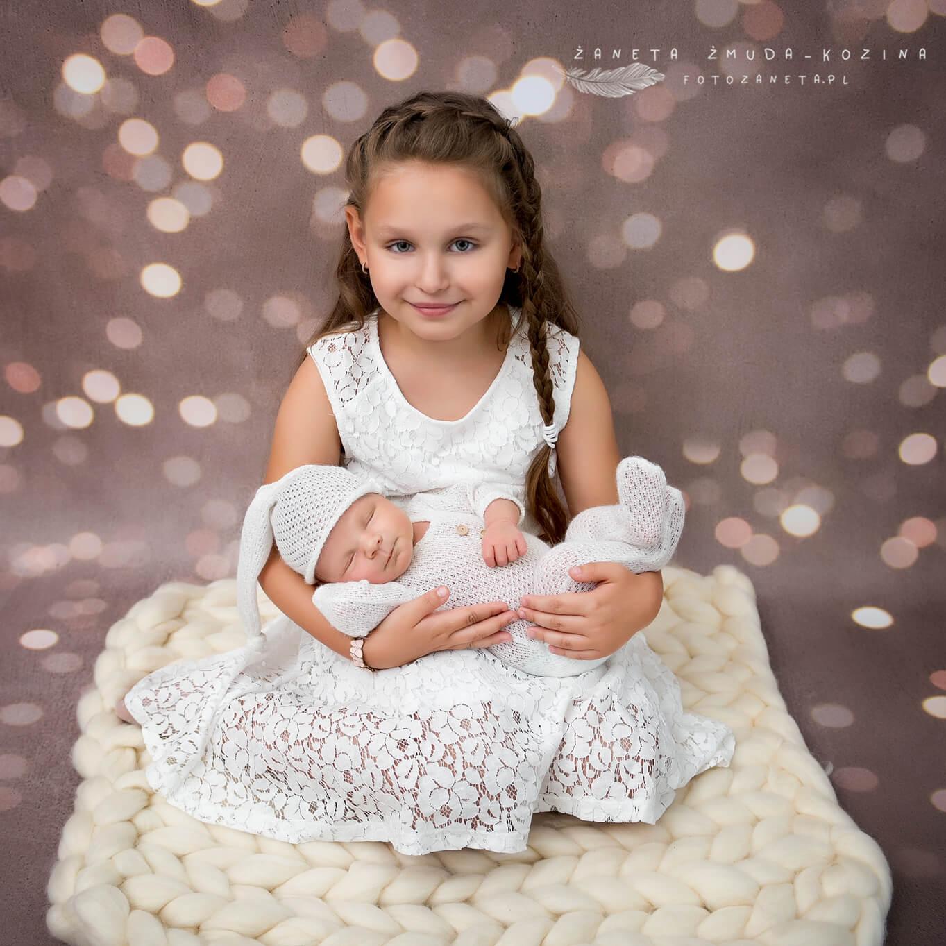 fotozaneta fotografia noworodkowa Modlin