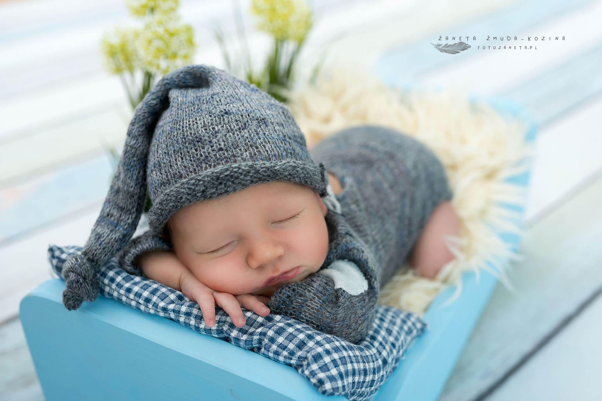 fotozaneta fotografia noworodkowa Legionowo
