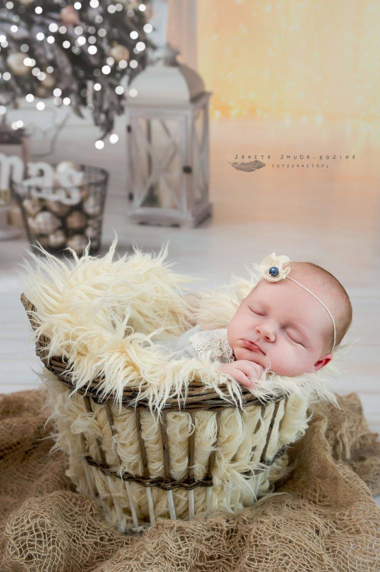 fotozaneta fotografia noworodkowa Jabłonna
