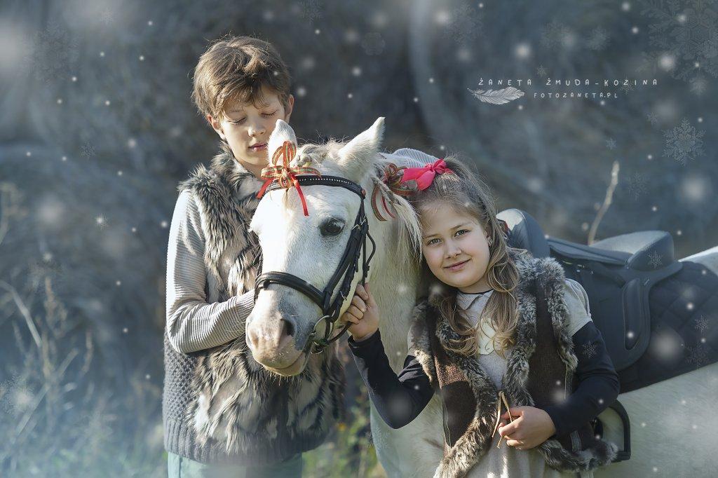 Sesja z koniem Wieliszew