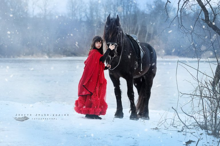 sesja z koniem Legionowo